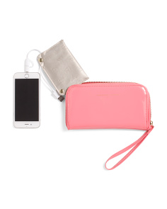 Zip Around Phone Wallet