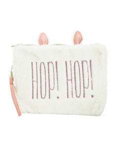 Bunny Hop Pouch With Wristlet