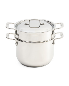 Made In USA 6qt Stainless Steel Pasta Pot Set