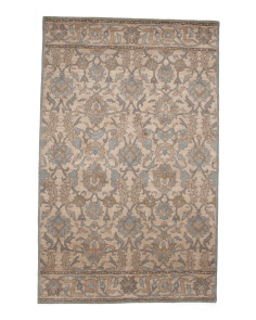 Made In India 5x8 Wool Area Rug