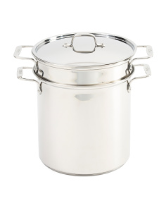 12qt Stainless Steel Multi Cooker Set
