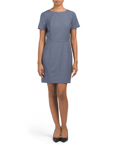 Wool Blend Cassii Dress
