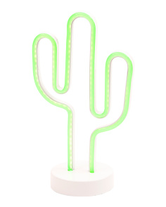 LED Cactus Figure