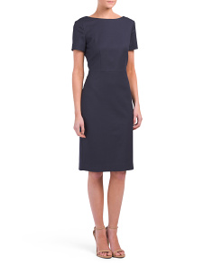 Varetta Wool Blend Dress