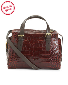 Loralie Leather Satchel