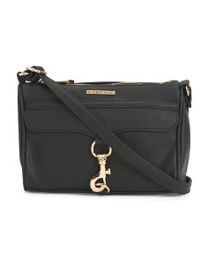 Clasp Front Crossbody