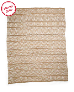 Made In India Hand Woven Jute Area Rug