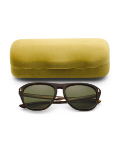 Men's Made In Italy Sunglasses With Case