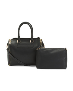 2pc Satchel With Pouch