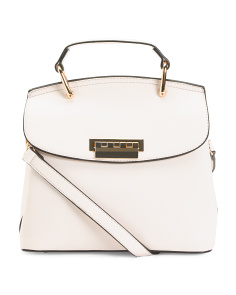 Top Handle Flap Satchel