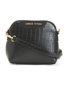 Croco Crossbody