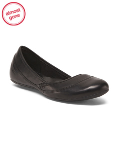 Comfort Leather Ballet Flats