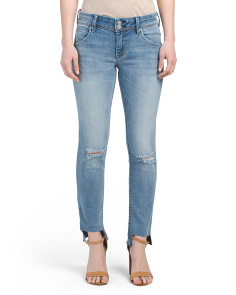 Cat Mid-rise Skinny Jeans