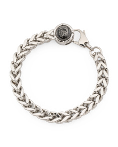 Men's Biker Stainless Steel Bracelet