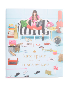 The Things We Love Coffee Table Book