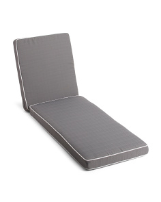 Oudoor Chaise Lounge Pillow