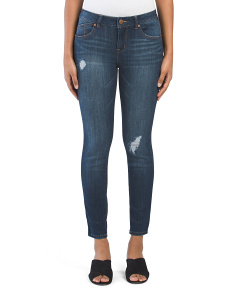 Destructed Ankle Jeans