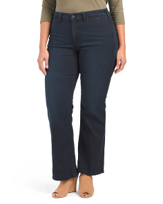 Plus Isabella Denim Trousers