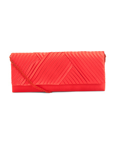 Lettia Satin Clutch