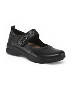 Narrow Casual Leather Shoes