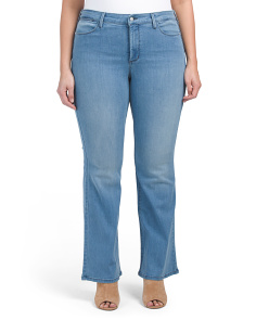 Plus Made In USA Farrah Flare Jeans