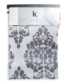 36x84 Set Of 2 Blackout Damask Curtains