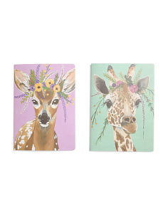 2pk Flower Creatures Journal Set