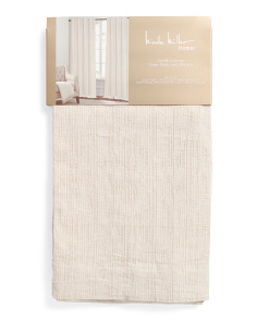 Set Of 2 Dune Textured Curtains