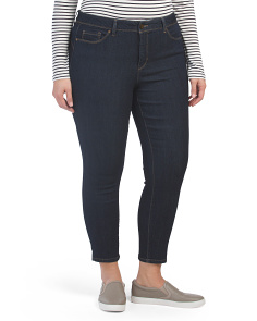 Plus Total Solutions Skinny Ankle Jeans