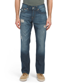 Bootcut Jeans With Flap Pockets