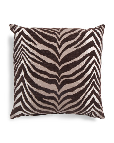 Made In USA 22x22 Flocked Pillow