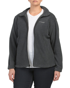 Plus Mt Cannon Full Zip Fleece Jacket