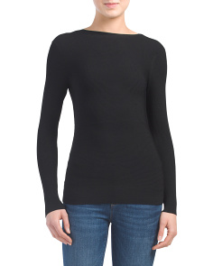 Technical Tie Back Sweater