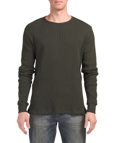 Donovan Thermal Crew Neck Top