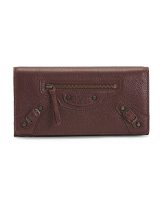 Made In Italy Leather Classic Wallet