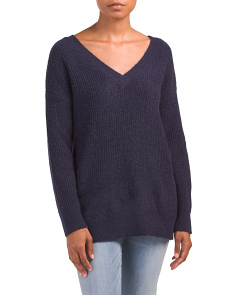 Juniors Corley Tunic Sweater