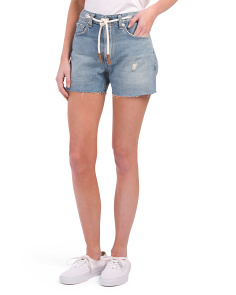 Made In USA Rocklyn Shorts With Rope Belt