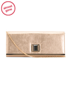 Jewel Close Convertible Clutch