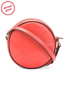 Leather Lottie Crossbody