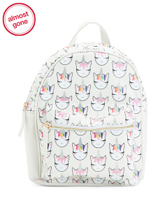 Whimsical Unicorn Mini Backpack