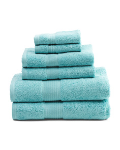 Made In Brazil 6pc Prestige Towel Set