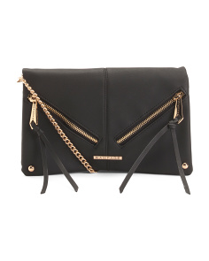 Zip Front Crossbody