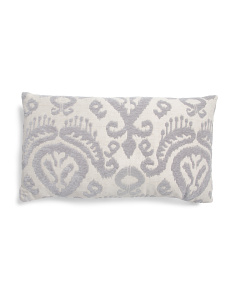 14x24 Ikat Pattern Pillow