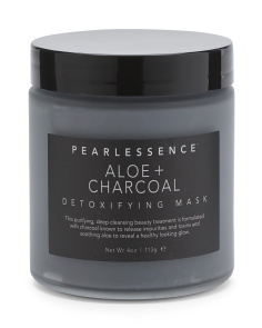 Aloe & Charcoal Clay Face Mask