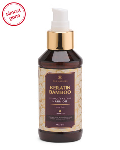 Keratin & Bamboo Strengthening Hair Oil