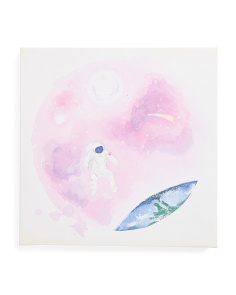 16x16 Outer Space Canvas Wall Art