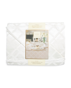 Laurel Leaf Tablecloth With Napkin Set