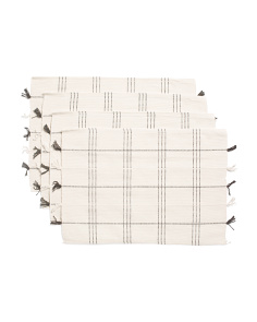 Made In India 4pk Placemats