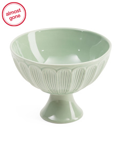 Made In Portugal Footed Salad Bowl