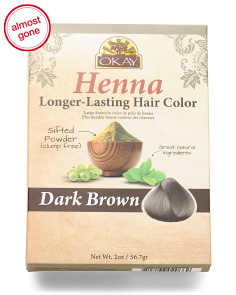 Henna Long Lasting Hair Color